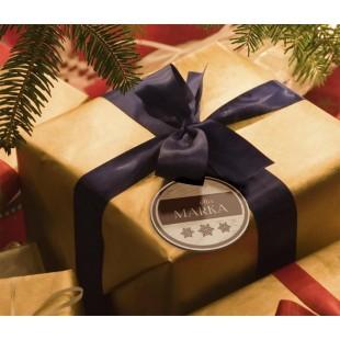 Grawerowane etykiety do prezentów
