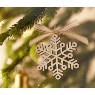 Płatki śniegu - zestaw dekoracji
