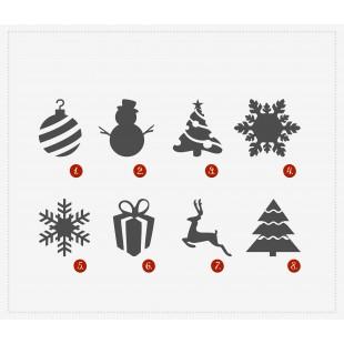 Dekoracje bożonarodzeniowe ze styroduru