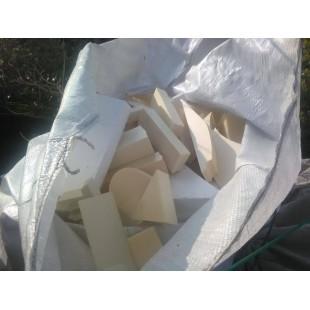 Odpady styrodur XPS modelarstwo 0,5m3 czyste