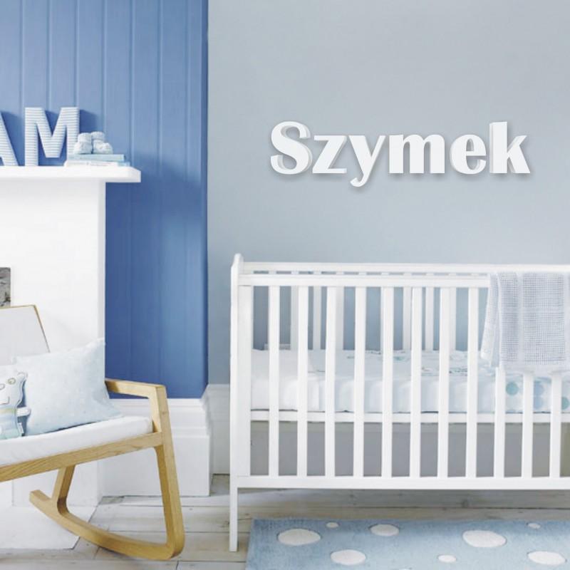 Nowoczesna architektura imię dziecka - literki dekoracyjne OL37