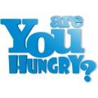 Are you hungry - napis dekoracyjny na ścianę 3d