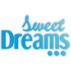 Sweet dreams - napis dekoracyjny na ścianę 3d