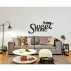 Home sweet home - napis dekoracyjny na ścianę 3d