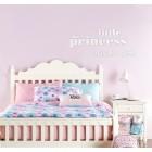 Little princess sleeps here - napis dekoracyjny na ścianę 3d